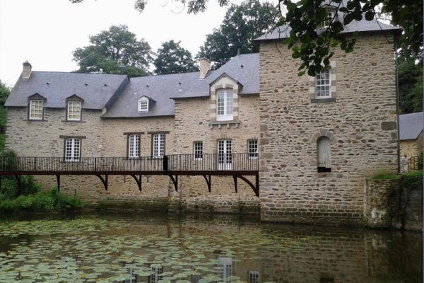 Aménagement château - Terrasse