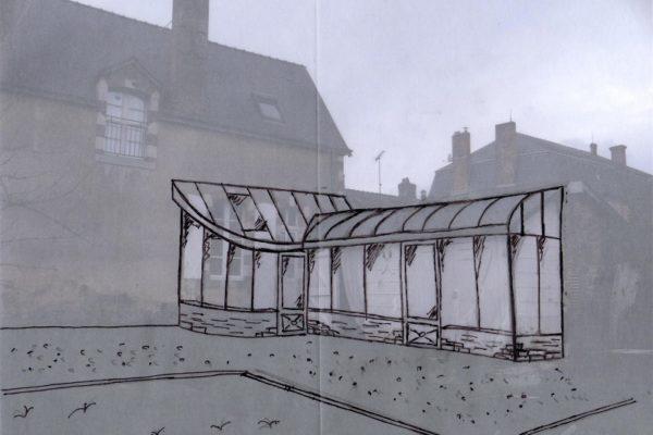Jardin d'hiver architecture