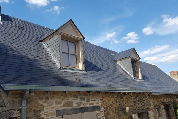 Rénovation toiture sur longère