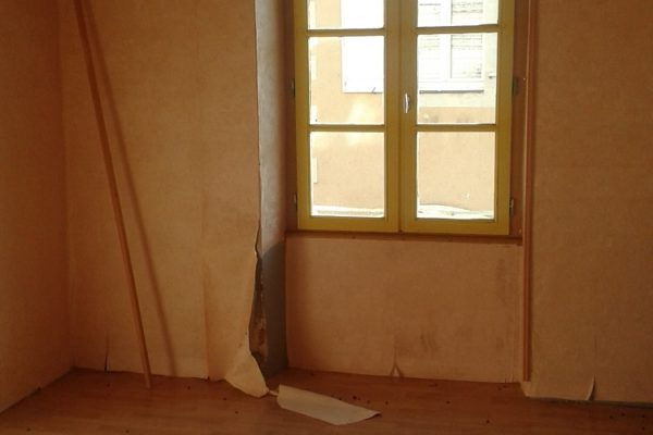 Maître d'œuvre rénovation chambre - avant