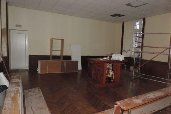 Rénovation chapelle