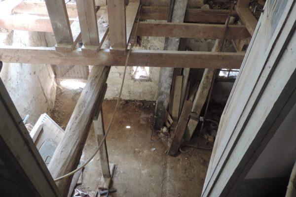 Restauration ancien - création pallier