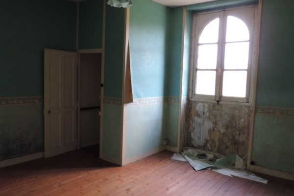 Rénovation château - Pavillon avant