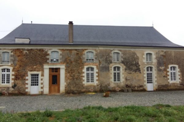 Rénovation vieille demeure façade après