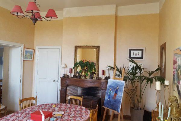 Rénovation intérieure salon - avant travaux